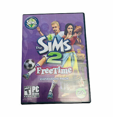 £11.32 • Buy The Sims 2 Freetime Expansion Pack Complete PC CD ROM 2 Discs