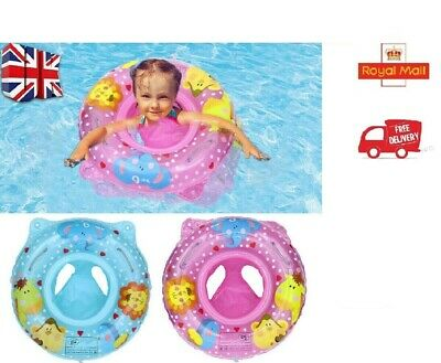 £4.69 • Buy Baby Swim Safe Seat Swimming Ring Inflatable Pool Float For Toddler 1 -3 Year