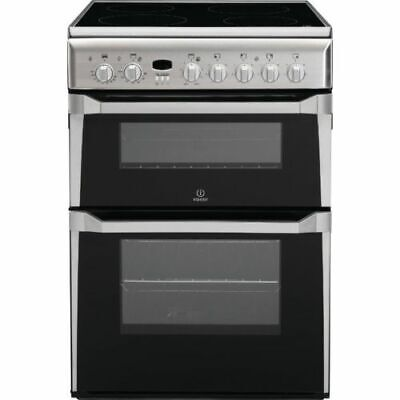 £339.99 • Buy BRAND NEW Indesit ID60C2XS 60cm Electric Cooker, Double Ovens, Grill, Hob