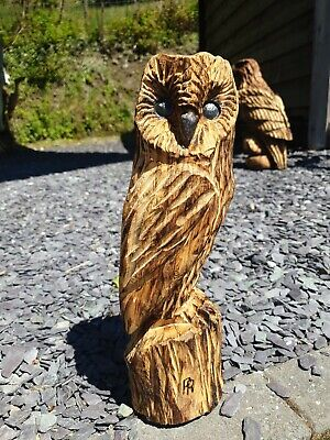 £44.99 • Buy Chainsaw Carved Hardwood  Owl