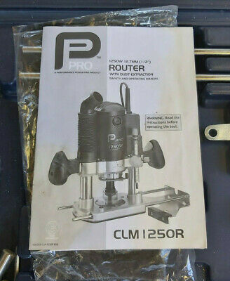 £95 • Buy Pro Router CLM 1250R Comes With A Lot Of Exercise. See Photos