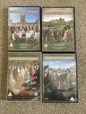 £10 • Buy Downtown Abbey DVDs X4