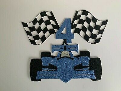 £5.99 • Buy Race Car Cake Topper With Age