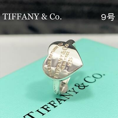 £114.44 • Buy Tiffany & Co. Please Return To Heart Band Ring Sterling Silver 925 US 5 NO BOX