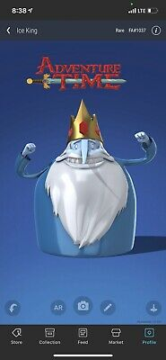 $99.99 • Buy VeVe NFT - Adventure Time - Ice King - First Appearance, Rare, Sold Out! INSTANT