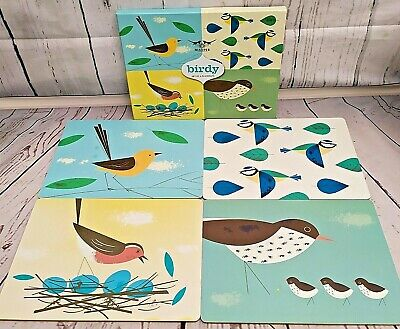 £11.99 • Buy Birdy Cork Backed Placemats By Magpie Boxed CRO4ZS MA0441 Blue Tit, Robin, Birds