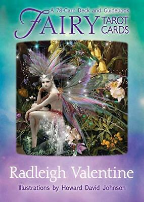 £18.49 • Buy Fairy Tarot Cards: A 78-Card Deck And Guidebook By Radleigh Valentine New Book
