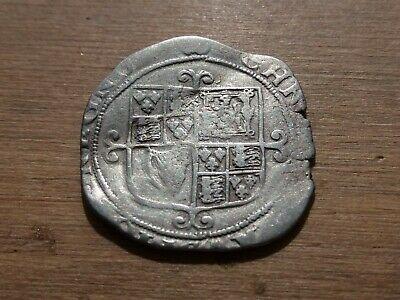 £50 • Buy 1625 - 1649 Charles I Hammered Silver Shilling MM (?) 5.69 Grams R20AE