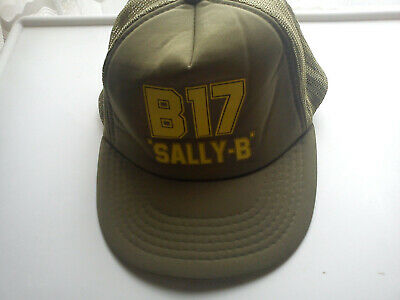 £30 • Buy Sally B Boeing B-17 Flying Fortress Baseball Cap - One Size Fits All RARE