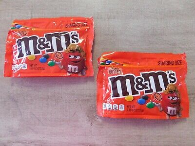 $27.95 • Buy 2- M&M'S Peanut Butter Chocolate Candy Sharing Size, 9.60 Oz. Each, Exp. 1/22