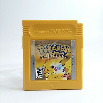 $74.97 • Buy Pokemon Yellow Version Special Pikachu Edition Authentic Game Boy 1999