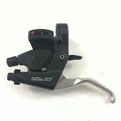 $57.99 • Buy Shimano Deore XT ST-M739 3 Speed Left Shifter Brake Lever Combo
