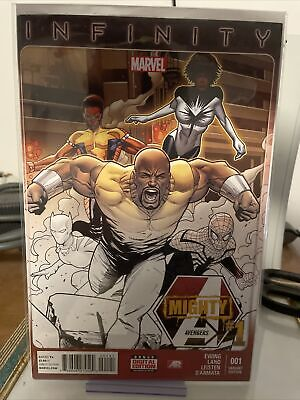 £71.71 • Buy Mighty Avengers (2nd Series) #1C VF; Marvel | Store Party Variant Cover