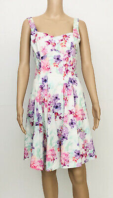 AU29 • Buy Forever New Size 10 Fit And Flare Floral Dress