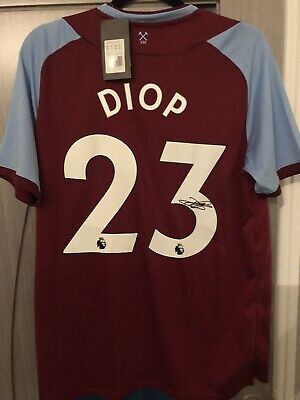 £110 • Buy Issa Diop Signed West Ham Shirt With COA France Premier League