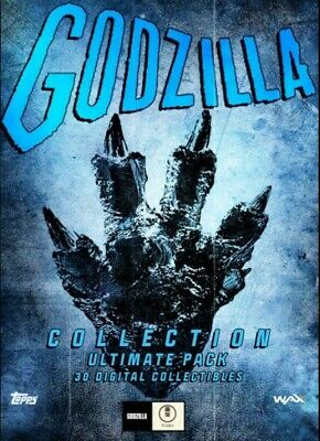 $175 • Buy Topps Godzilla NFT 2021 Series 1 - ULTIMATE Pack (30 Build Cards) Various Mints