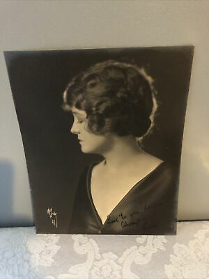$350 • Buy Inscribed W F Seely Photograph  From Actress Kathleen O'connor To Mabel Normand.