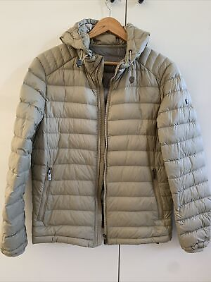 AU150 • Buy MASSIMO  DUTTI Women's Taupe Puffer Coat SMALL New Without Tags