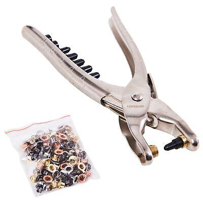 £6.45 • Buy Amtech Interchangeable Hole Punch & Eyelet Pliers + Eyelets Craft Fabric Plier