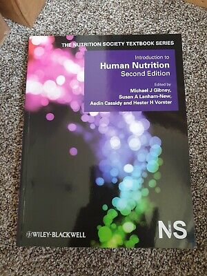 £32 • Buy Introduction To Human Nutrition (Paperback, 2009)