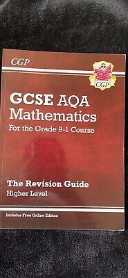 £5.75 • Buy GCSE AQA Mathematics- Revision Guide- Higher Level ( For The Grade 9-1 Course)