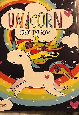 AU8.11 • Buy Unicorn Coloring Book  Tear And Share Pages
