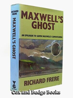 £12 • Buy RICHARD FRERE Gavin Maxwell's Ghost 1976 1st HB DW Epilogue To Camusfearna