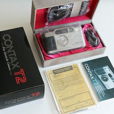 $ CDN2573.22 • Buy (Mint & Boxed) Contax T2 35mm Point & Shoot Compact Film Camera