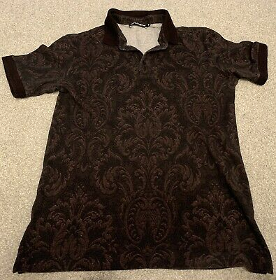 £45 • Buy Dolce And Gabbana Mens Floral T Shirt IT 50