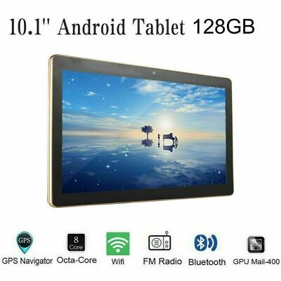 £59.99 • Buy 10.1'' Inch Android 10.0 Tablet PC Octa Core 8+128GB ROM RAM Dual SIM Phablet