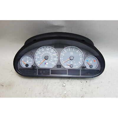 $475 • Buy 2001-2006 BMW E46 M3 Coupe Convertible Instrument Gauge Cluster For Manual Trans
