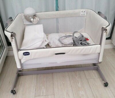 £115 • Buy Next2me Magic Crib Chicco Baby Co Sleeping Cot Bedside Next To Me