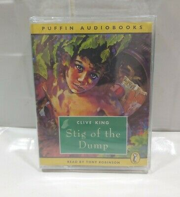 £5 • Buy Stig Of The Dump By Clive King-Read By Tony Robinson- Audio Cassette Tape-Sealed