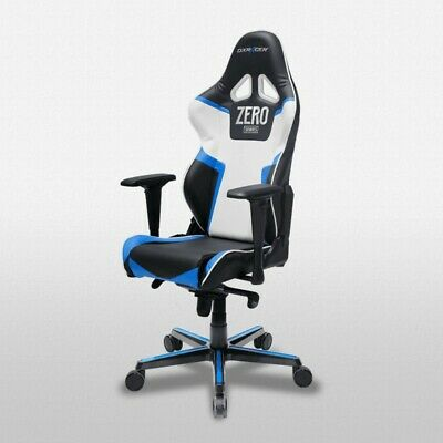AU419 • Buy DXRacer Gaming Chair Racing Series RV118 Black And Blue - New - Ex Melbourne