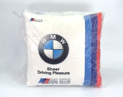 $39.59 • Buy BMW M6 Decorative Pillow Sheer Driving Experience White Pillow