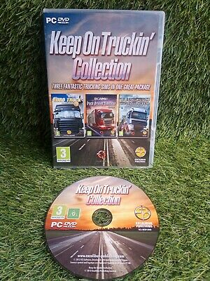 £8 • Buy Keep On Truckin Collection 3 Game Truck Lorry Driving Simulation PC