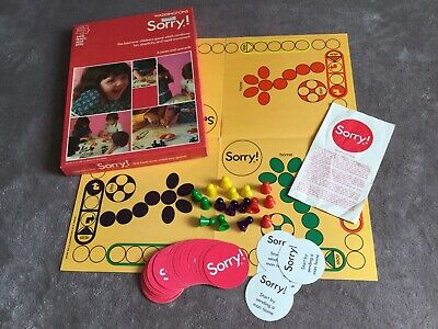 £16.99 • Buy Sorry! Board Game - Vintage 1973 Waddingtons - Complete Childrens Game