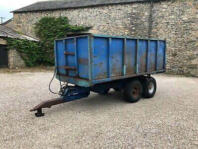 £2500 • Buy #B1184 BWA 8 Tonne Tipping Grain Silage Trailer. V Good Floor. Horse Muck Stable
