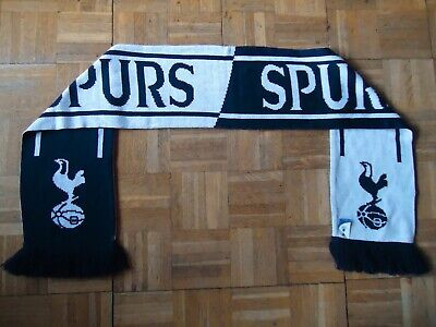 £9.99 • Buy Official Tottenham Hotspur FC Navy & White Spurs Scarf Brand New