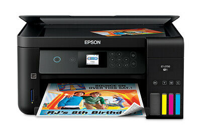 View Details Epson EcoTank ET-2750 Wireless Color All-in-One Supertank Printer - Refurbished • 199.99$