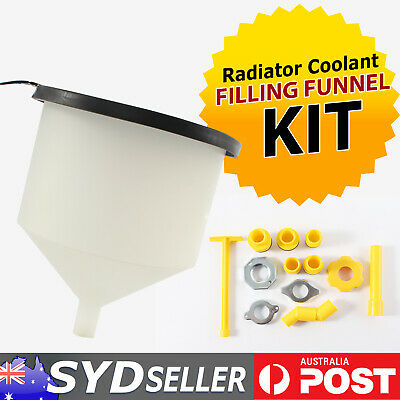 AU51.69 • Buy 15x Radiator Coolant Funnel Kit No-Spill Automotive Repair Tools Cooling Systems