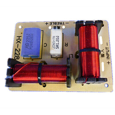 AU14.85 • Buy Crossover Speaker Filter Frequency Divider Home 2 Way Treble Bass Professional