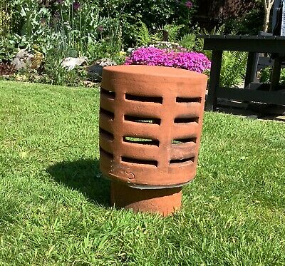 £38 • Buy Chimney Pot - Louvered Terminal / Terracotta/ Clay