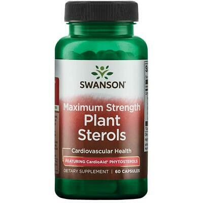 £10.98 • Buy Plant Sterols 60 Capsules Cholesterol Health Beta Sitosterol Phytosterol Swanson