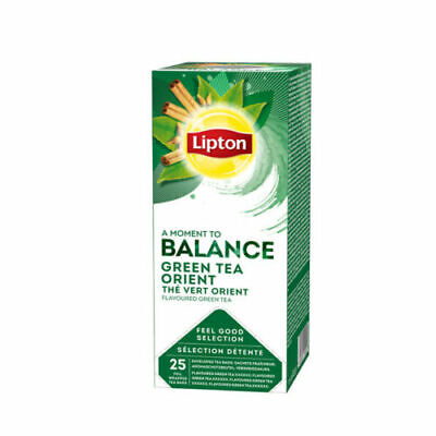 £15.99 • Buy Lipton TCHAE Green Tea Orient 3 Boxes  Of 25 (75) Supplied Free UK Delivery