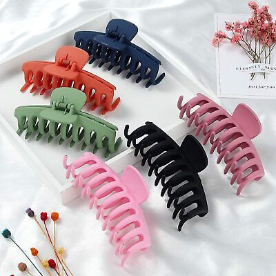 $ CDN5.18 • Buy Ladies Large Hair Claw Clamps Clips Butterfly Claw Clamp Hair Accessories UK Lot