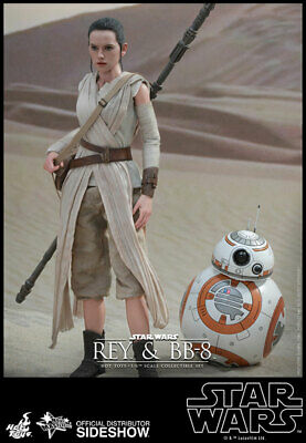 $ CDN615.99 • Buy Star Wars Collectible 11 Inch Figure MMS - Rey And BB-8 Set Hot Toys 902612