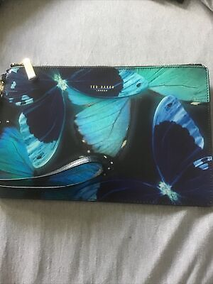 £12 • Buy Ted Baker Clutch Bag Butterfly Print