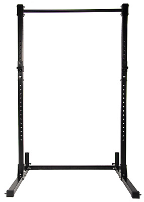 $ CDN212.41 • Buy Multi-Function Adjustable Power Rack Exercise Squat Stand With J-Hooks 500-Pound