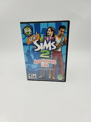 £14.90 • Buy The Sims 2: Apartment Life ~ Expansion Pack (PC Game DVD-ROM, 2008) With Manual